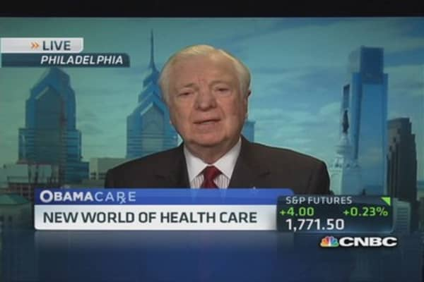 How to fix the health care law: UHS CEO