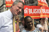 Bill de Blasio, New York City Mayoral candidate.