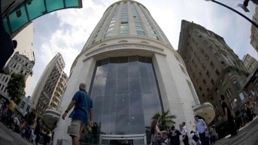 OGX's headquarters in Rio de Janeiro