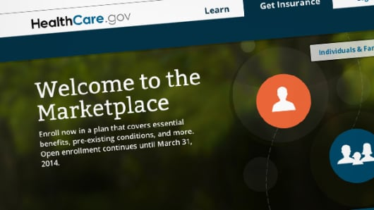 HeathCare.gov Individual Marketplace