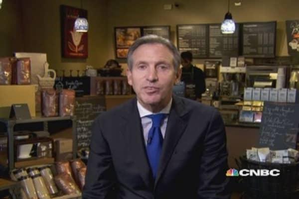 Starbucks CEO: Stunning quarter