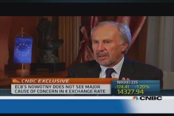 Need to avoid 'cliff effect' at end of LTRO: ECB's Nowotny