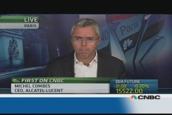 Alcatel-Lucent needs more time to 'turn around': CEO