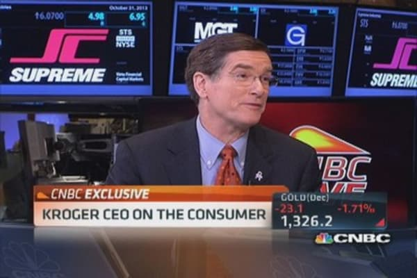 Kroger CEO on customers and food stamps