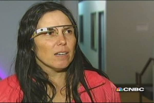Wear Google glasses, get ticket