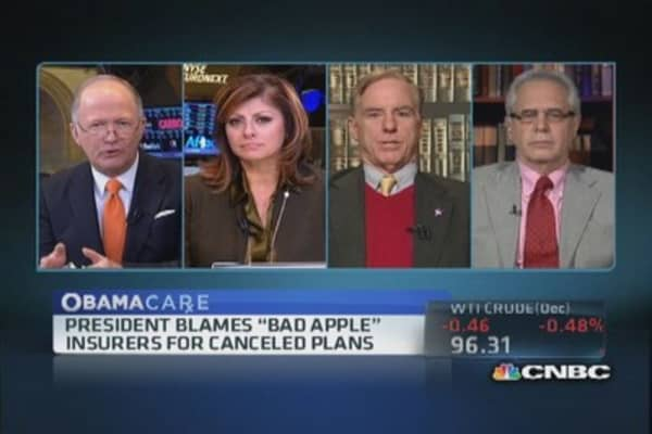 'Bad apple' insurers to blame?