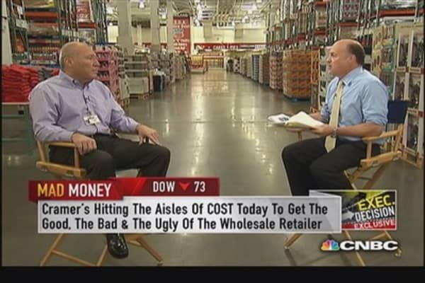 Costco CEO: Overall merchandising very strong