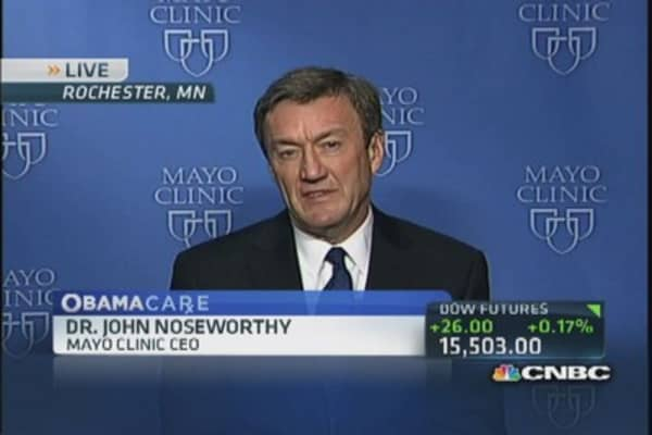 Mayo CEO: Time to 'modernizer' health care reimbursement