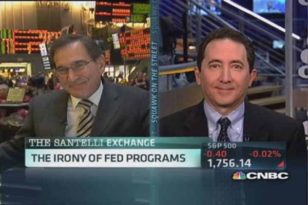 Santelli Exchange: High quality collateral shortage