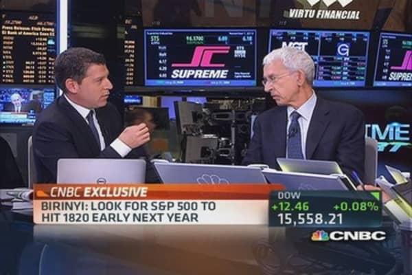 S&P 500 heading to 1,820: Laszlo Birinyi