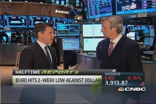 Fade euro be long US dollar: Pro
