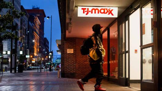 A T.J. Maxx store in Cincinnati