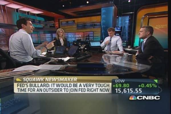Yellen well prepared: Bullard