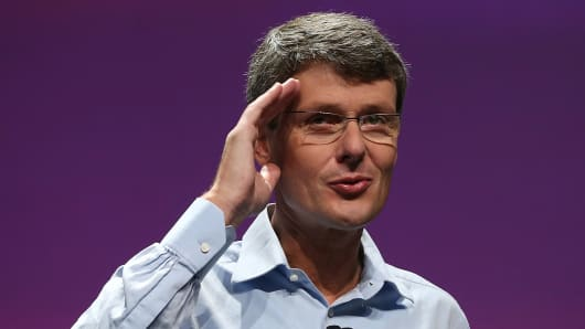 BlackBerry CEO Thorsten Heins.