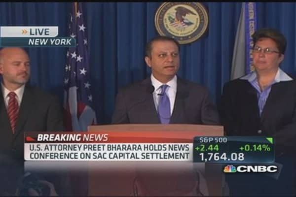 Bharara: SAC insider trading was substantial and pervasive
