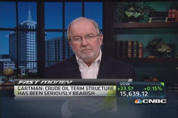 Will remain short crude: Gartman