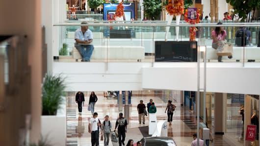 Westfield Garden State Plaza mall in Paramus, New Jersey.