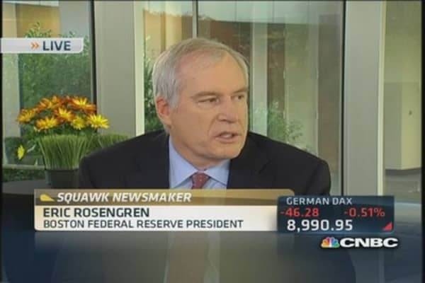 Fed's Rosengren: We need sustainable growth