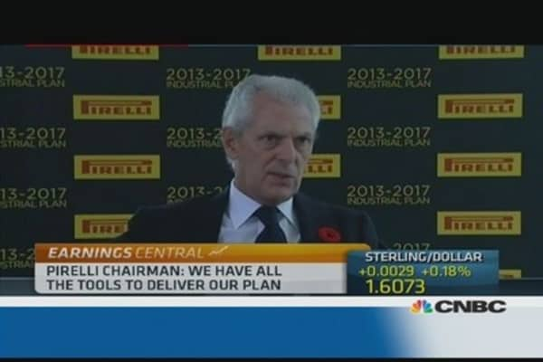 Pirelli has 'all the tools to deliver': Chairman