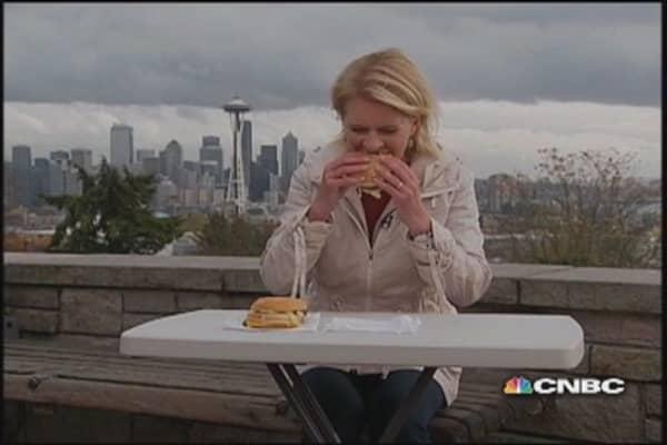 Wells: Big Mac vs. Big King