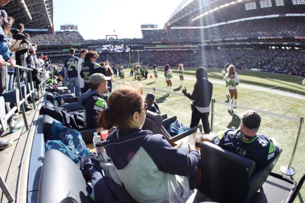Seattle Seahawks Field Seats