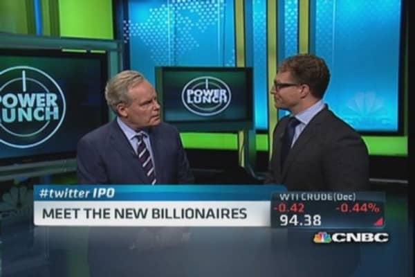 Twitter billionaires