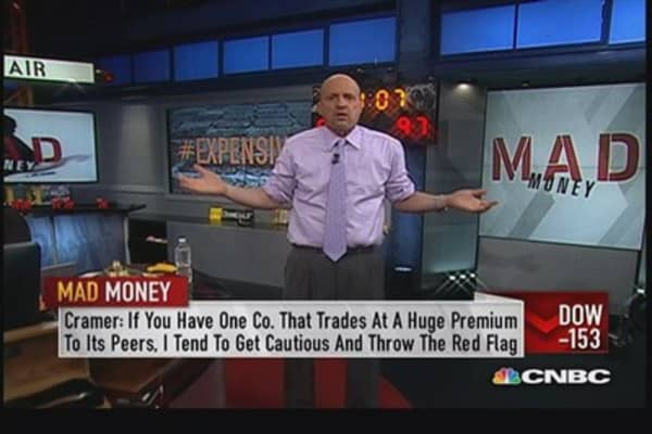 Cramer throws the red flag on Twitter