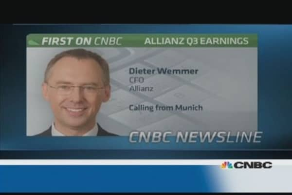 ECB rate cut shows Europe 'not over problems: Allianz CEO.