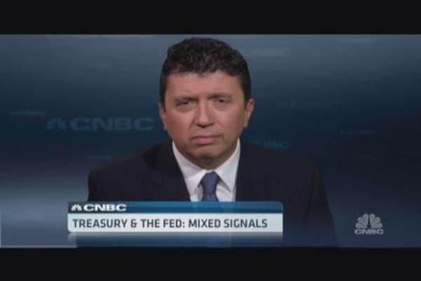 Treasury vs. Fed: Cox