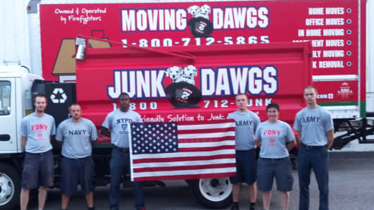 Moving Dawgs and Junk Dawgs, based in Indianapolis, are among the small businesses that have been hit by the recent shutdown.