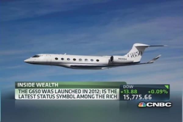 Flipping a $64.5 million jet?