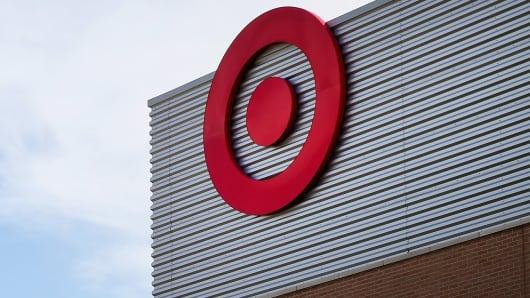 Target logo on Target store, Chicago