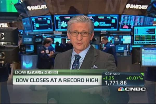 Pisani's market close: Tech strong throughout day