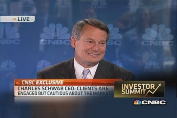 Schwab CEO's outlook