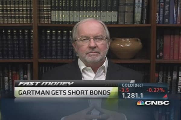 Sell bond market: Gartman