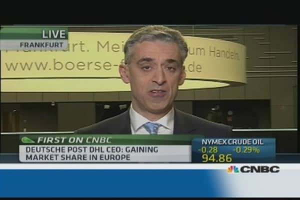 There is no strong global recovery: Deutsche Post CEO