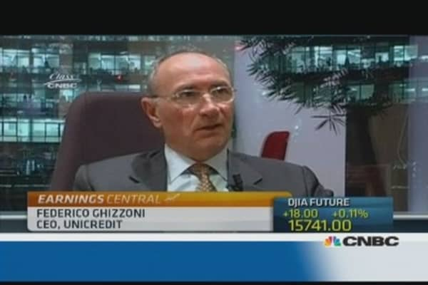 Cost of risk in Italy is main focus: Unicredit CEO