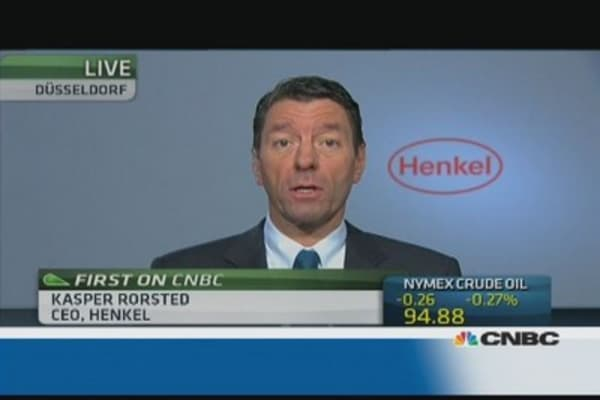 Currency headwinds are challenging: Henkel CEO