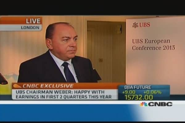 Phase of 'normalization' in economy: UBS's Weber
