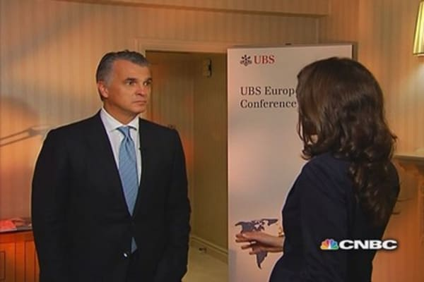 UBS's business model is working: CEO