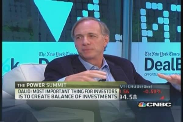 Dalio sees rough road for investors