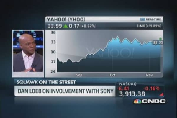 Dan Loeb's involvement in Sony