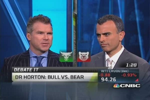 Debate it: Bull vs bear on DR Horton