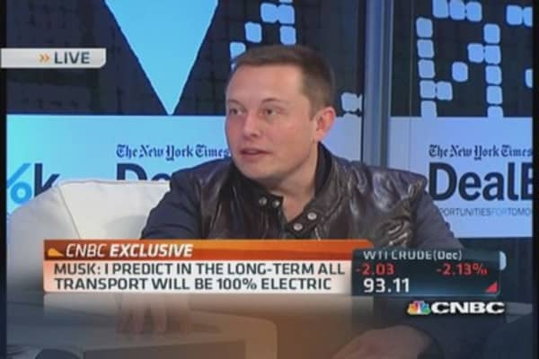 Musk sees opportunity for supersonic electric airplane