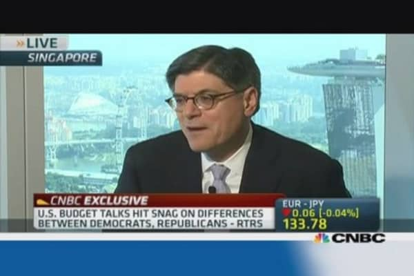 Jack Lew: US is bouncing back from recession