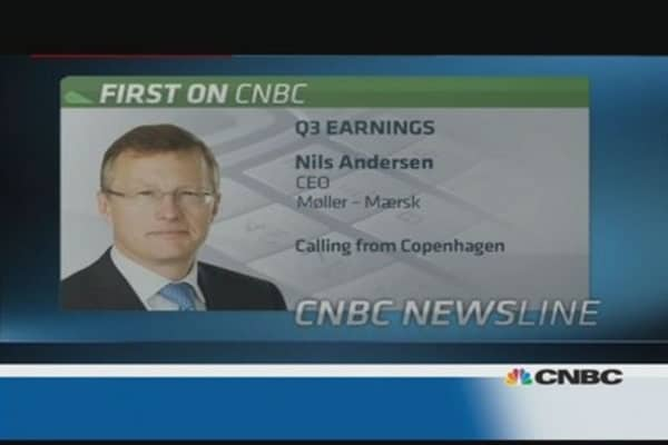 'Difficult' fourth quarter ahead: Moller Maersk CEO