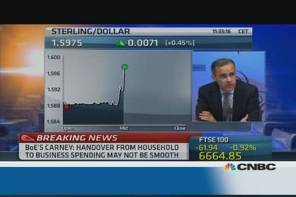 Inflation target to be reached a year early: BoE's Carney