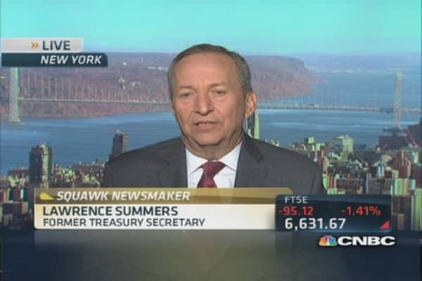 Since Obamacare, US bent curve on health costs: Larry Summers