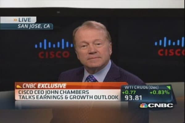 Cisco CEO: Emerging markets more challenging now