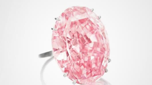 Sotheby's buys 'Pink Star' diamond after original buyer defaults